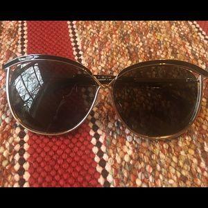 """Rebecca Minkoff Accessories - Rebecca Minkoff """"Madison"""" sunglasses in gold black"""