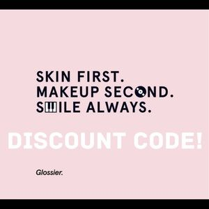 Glossier Other - Glossier Promo Code!