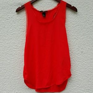 Bright orange NWT tank