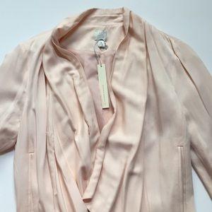 LC Lauren Conrad drape front blazer