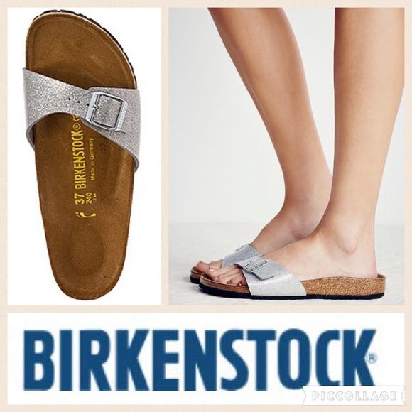 e7d14a7956c9 Birkenstock Shoes - Birkenstock Madrid Galaxy Sandal Silver 38
