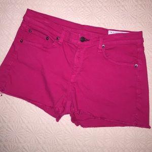 Rag & Bone / Jean shorts- Hot Pink!