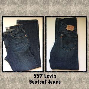 Levi's Denim - 🍃 557 Levi's Bootcut Jeans