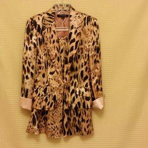 Anne Klein  Other - 😄 Anne Klein 100% silk  suit size 10