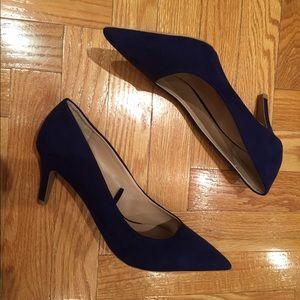 ZARA Cobalt Blue Heels size 40
