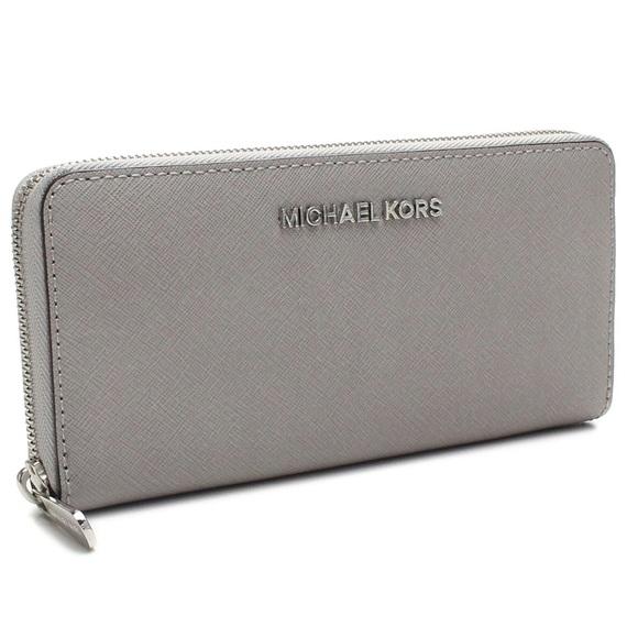 michael kors wallet gray