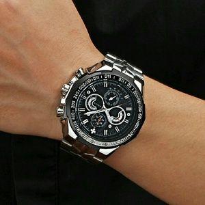 Luxury  Men's Casual Quartz Watch Men Waterpr