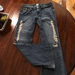 Denim - True Religion Destroyed Jeans 31