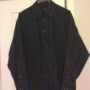 Axcess Other - Men's Black Long Sleeve Button down shirt