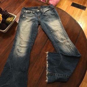 Denim - True Religion destroyed jeans 29