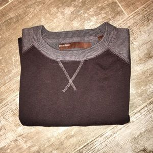 Perry Ellis Other - Perry Ellis Two-Tone Pullover Sweater Size L