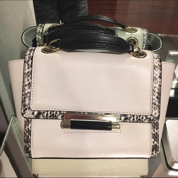 Diane von Furstenberg Handbags - DVF mini 440 white leather crossbody bag