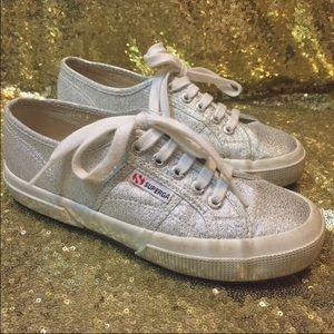 Silver Superga Fashion Sneakers