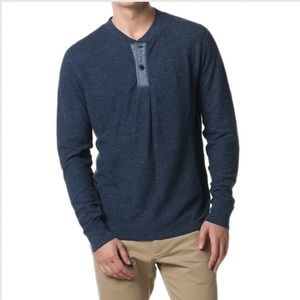Grayers Other - Grayers Byron Double Cloth Henley