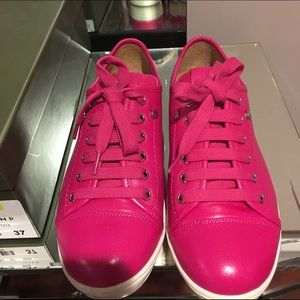 ❌SOLD❌ BRAND NEW Longchamp pink sneakers