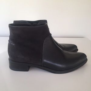 rag & bone Shoes - Black Leather and Suede Booties.