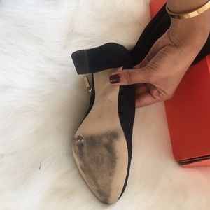 Ivanka Trump Shoes - Suede Thigh High Boots.
