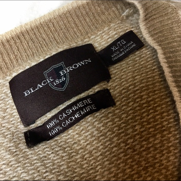 76% off Black Brown 1826 Other - Offers 🚨 100% Cashmere Sweater ...