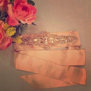 Allure Bridals Accessories - NWT Allure Bridals crystal sash #103