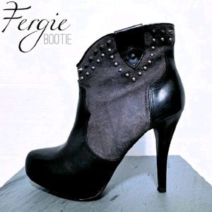 Fergie Shoes - {Fergie} studded bootie 🎉HPx2