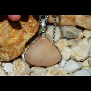 Mookaite Heart-Shaped Pendant 2""