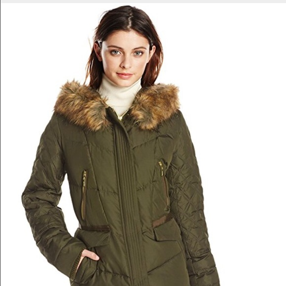 84111943f Kensie Women's Diamond Quilted Down Coat NWT