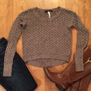 Kensie Sweaters - Kensie Knit High/Low Sweater
