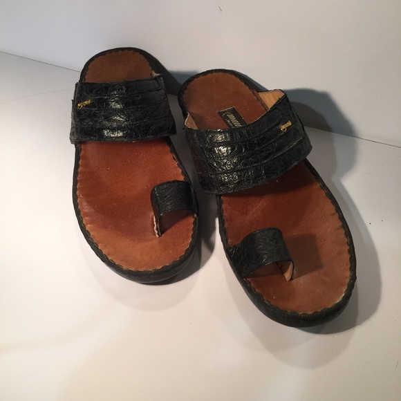 c5d955d2728b Mauri Made in Italy Ostrich sandals! 💞. M 5823d471c6c795aa060094f8