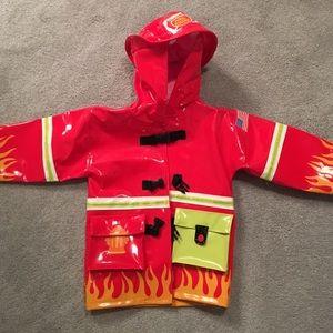 Kidorable Other - Toddler fireman rain coat