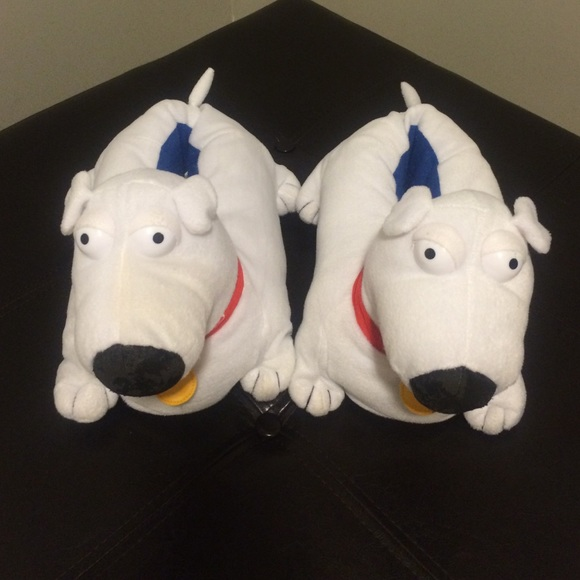 0db2f27c9bcb60 Family Guy Shoes - Family Guy Brian Dog size large (11-12) slippers