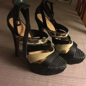 L.A.M.B. Brand high heels size 8