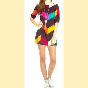 The Blossom Apparel Dresses & Skirts - 🎀Last One🎀Chevron Shift Dress🎀