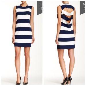 10 Crosby Derek Lam Dresses & Skirts - Derek lam 10 crosby cutout striped dress - small