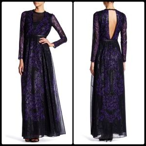 Yigal Azrouel Dresses & Skirts - YIGAL AZROUEL ♠️ Leather Trim Gown NWT