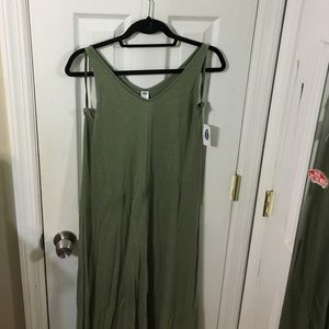 New with tags high low hunter green old navy dress