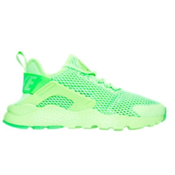 b84a4dcc615c Nike Air Huarache neon green running shoes sz 7. M 5823ecad6a58304dfd010587