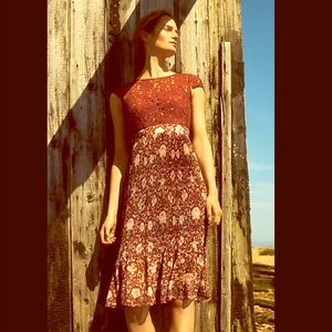 Anthropologie Tracy Reese lace dress