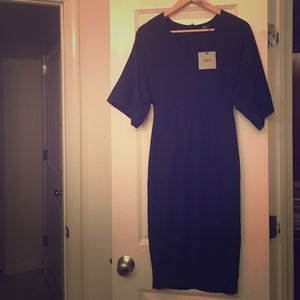 Navy blue ASOS dress
