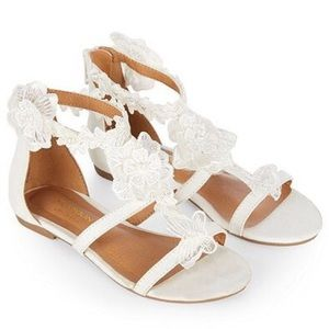 Monsoon Other - *NWT* Monsoon kids lace sandal