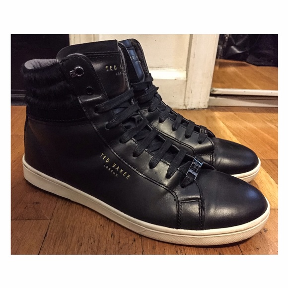 0f90458f Ted Baker Kilma 2 High Top Black Sneakers Size 8. M_5823f2145c12f81492011c02