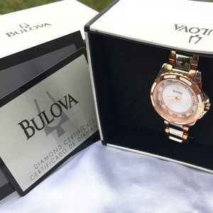 Bulova Accessories - 💎 🆕Bulova Diamond ⌚️