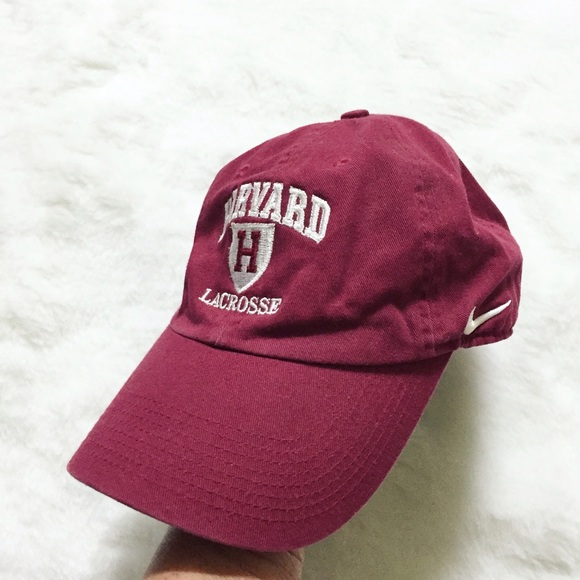 d95418419fe Nike Harvard lacrosse the Ivy League hat. M 5823f56013302a1762012e94