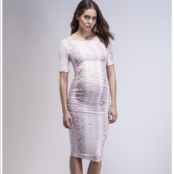 ecd9314c90ee5 Isabella Oliver Dresses | Snakeskin Maternity Dress | Poshmark