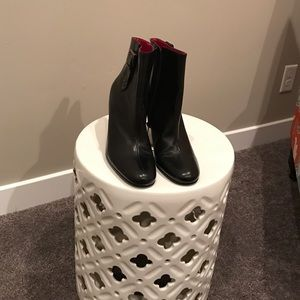 Enzo Angiolini Shoes - High heel black leather Ankle boots