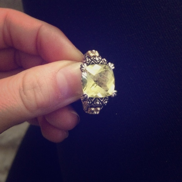 engagement jewelry yg cut gold rings in white with yellow cushion diamond clearance nl ring sale