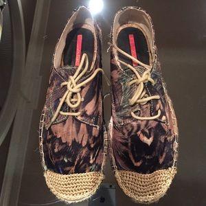 Shoes - Beautiful multi-color espadrilles