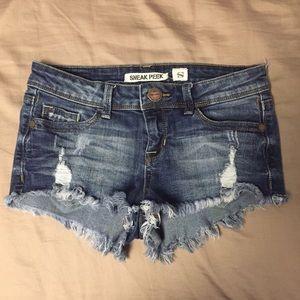 Love Culture Pants - Love Culture Distressed Denim Shorts