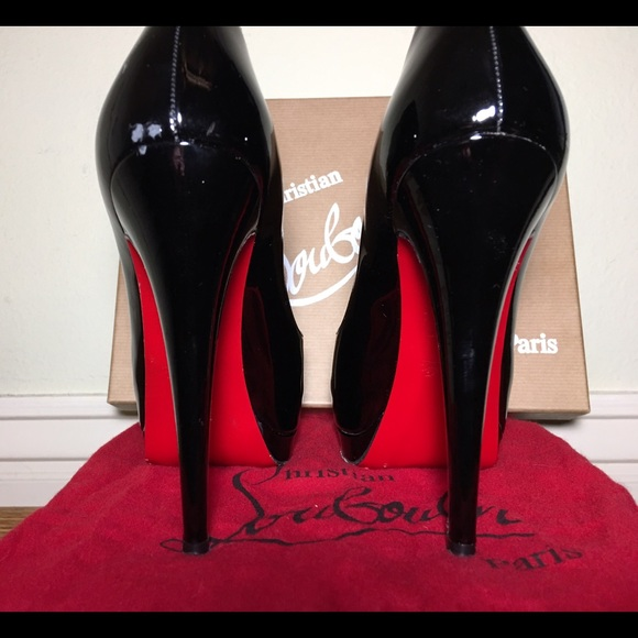 Christian Louboutin Shoes - Christian Louboutin Black Heels ef7f58afd
