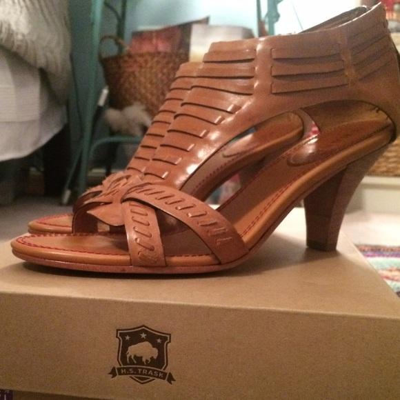 Trask Hannah Leather Sandal yh6Pu