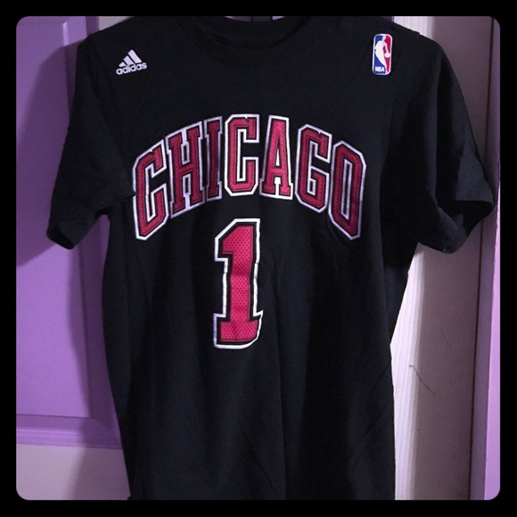 24f6cba5f Adidas Tops - Derrick rose Chicago bulls t shirt. Worn once.
